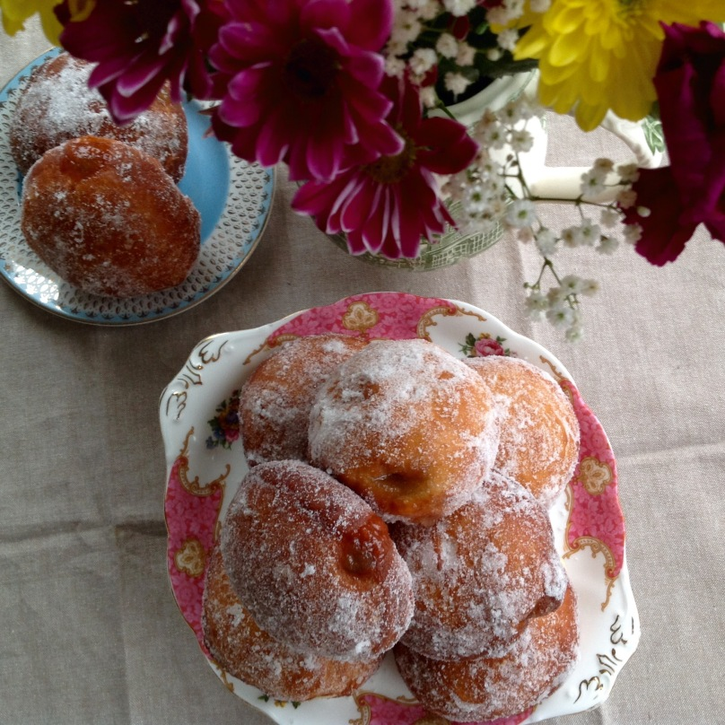 Jam and Creme Patissiere Donuts