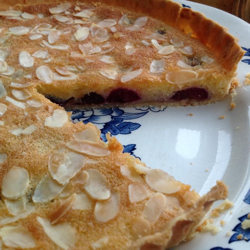 Cherry & Frangipane Tart